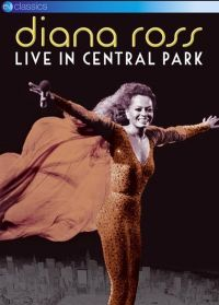 Cover Diana Ross - Live In Central Park [DVD]